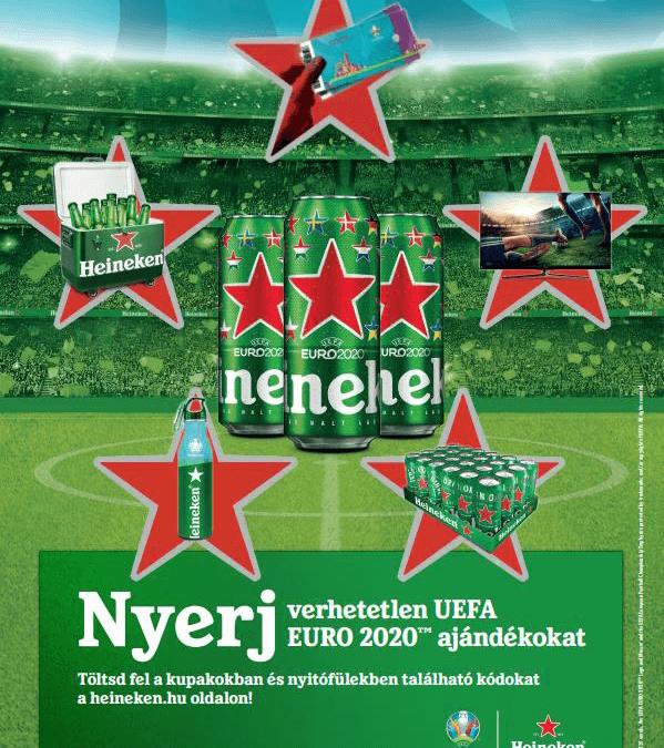Új köntösbe bújtatott Heineken termékek – EURO 2020 promóció